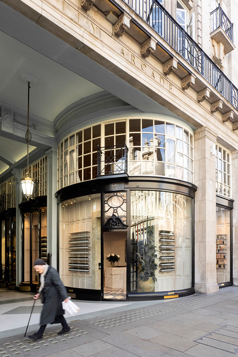 Have a peek inside Aesop's luxurious new Piccadilly store