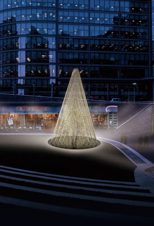 Paddington Central Welcomes Its First Ever Light Installation