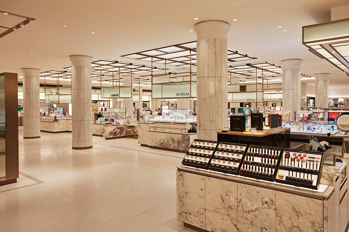 Inside the Harrods Beauty Hall Emporium