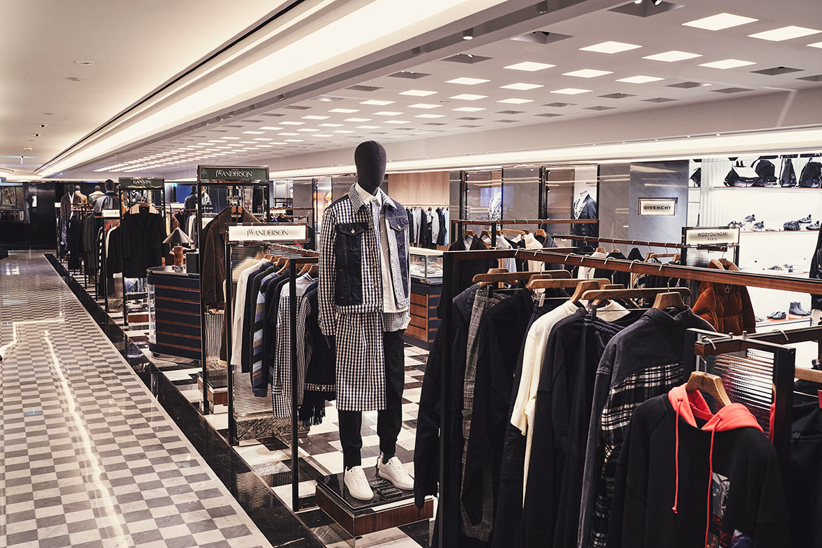 Harrods Unveils Ultimate Streamlined Men's Shopping Experience